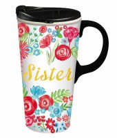 17oz CERAMIC TRAVEL CUP SISTER
