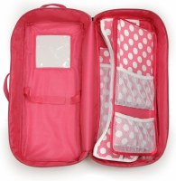 "18"" DOLL TRAVEL CASE WITH BED & BEDDING"