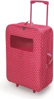 "18"" DOUBLE DOLL TRAVEL CASE W/SLEEP BAGS"