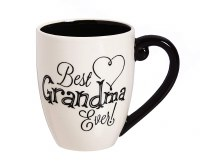 18oz CERAMIC CUP W/BOX GRANDMA