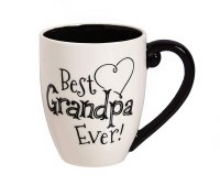 18oz CERAMIC CUP W/BOX GRANDPA