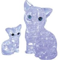 3D CRYSTAL PUZZLE CATS