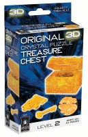 3D CRYSTAL PUZZLE CHEST