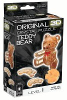 3D CRYSTAL PUZZLE TEDDY BEAR