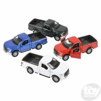 "4.75"" DIE-CAST PULL BACK 2015 FORD F-150"