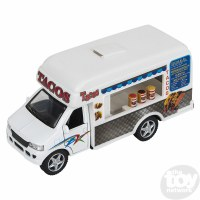 "4"" DIE-CAST PULL BACK TACO TRUCK"