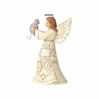 HEARTWOOD CREEK WHITE FARMOUSE ANGEL CAT