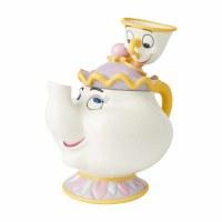 DISNEY MRS. POTTS & CHIP COOKIE JAR