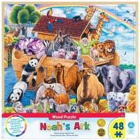 48PC WOODEN PUZZLE NOAH'S ARK