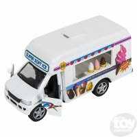 "5"" DIE-CAST PULL BACK ICE CREAM TRUCK"