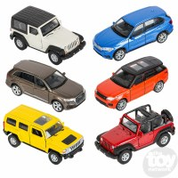 "5"" DIE-CAST PULL BACK SUV JEEP"