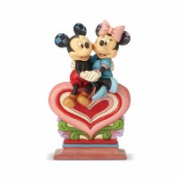HEARTWOOD CREEK MINNIE/MICKEY ON HEART