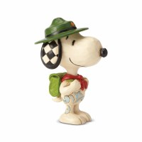 HEARTWOOD CREEK MINI SNOOPY BOY SCOUT