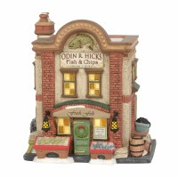 D56  DICKENS ODIN R. HICKS FISH & CHIPS
