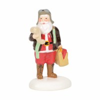 D56 SNOW VILLAGE AVIATOR SANTA