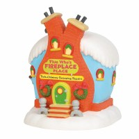 D56 GRINCH VILLAGE FLUE WHO'S FIREPLACE