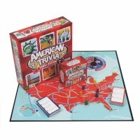AMERICAN TRIVIA FAMILY EDITION GAME