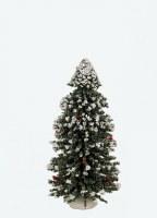 "BYERS' CHOICE 9"" SNOW TREE"