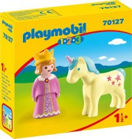 PLAYMOBIL 123 PRINCESS W/ UNICORN
