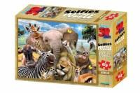 100PC PUZZLE 3D SELFIES AFRICA