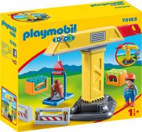 PLAYMOBIL 123 CONSTRUCTION CRANE