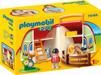 PLAYMOBIL 123 MY TAKE ALONG BARN