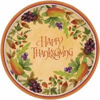 8CT DINNER PLATES THANKSGIVING MEDLEY