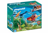PLAYMOBIL ADV COPTER WITH PTERODACTYL