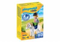 PLAYMOBIL 123 BOY WITH PONY