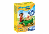 PLAYMOBIL 123 CONSTRUCTION WORKER