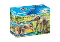 PLAYMOBIL ADVENTURE ZOO ELEPHANT HABITAT