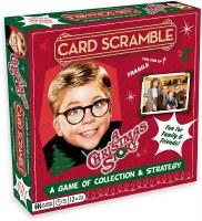 A CHRISTMAS STORY CARD SCRAMBLE GAME