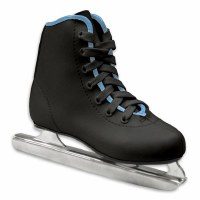 AA DOUBLE RUNNER ICE SKATES BOYS 12
