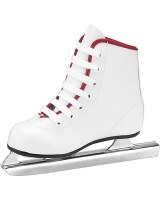 AA DOUBLE RUNNER ICE SKATES GIRLS 8