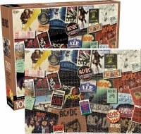AC/DC ALBUM COVERS 1000pc PUZZLE