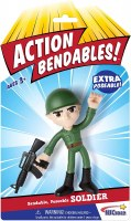 ACTION BENDABLES SOLDIER