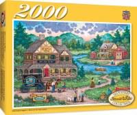 ADIRONDACK ANGLERS 2000pc PUZZLE