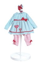 "ADORA DOLL 20"" OUTFIT BLOOMING HEARTS"