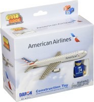 AMERICAN AIRLINES BRICK BUILD TOY