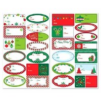 AMSCAN VERY MERRY GIFT LABELS