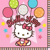 HELLO KITTY BALLOON DREAMS BEV NAPKINS
