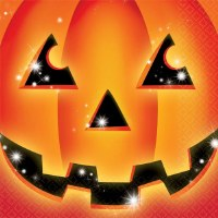 AMSCAN 16CT NAPKINS PERFECT PUMPKIN