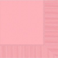 AMSCAN 20ct BEVERAGE NAPKINS NEW PINK