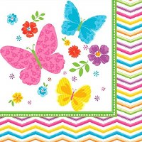 AMSCAN 36CT NAPKINS CELEBRATE SPRING
