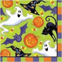 AMSCAN 36ct NAPKINS SCARY FUN