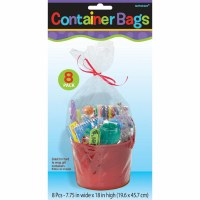 AMSCAN 8CT CONTAINER BAGS