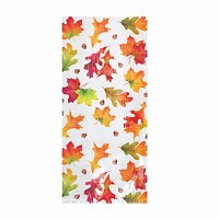AMSCAN CELLO BAGS FALL LEAVES