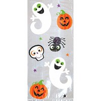 HALLOWEEN FRIENDLY LG PARTY TREAT BAGS