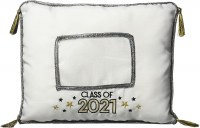 AMSCAN CLASS OF 2021 PHOTO PILLOW