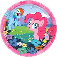 "AMSCAN 7"" PLATES MY LITTLE PONY"
